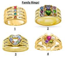 personalized gold rings personalized ring ebay