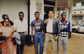 obama s rare photos of obama s visit to kenya in 1987