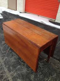 Wood Drop Leaf Table Drop Leaf Table Ebay