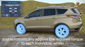 Ford Escape Awd System - 2013 ford kuga awd system youtube