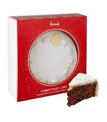 harrods christmas cake with courvoisier v s o p cognac 1 23kg