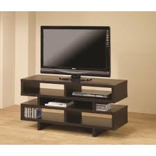 Tv Tables For Flat Screens Coaster Tv Stands Contemporary Tv Console With Open Storage