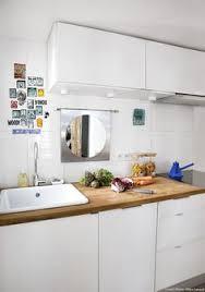 decorer cuisine toute blanche décoration miroir motif design deco motif design
