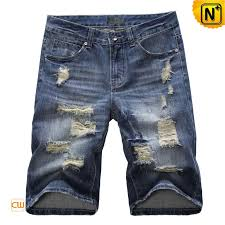 Ripped Denim Jeans For Men Ripped Denim Jean Shorts For Men Cw100049 Our Perfect Fit Ripped