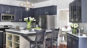 modern gray kitchen design video hgtv