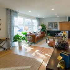 Mixing Leather And Fabric Sofas Photos Hgtv
