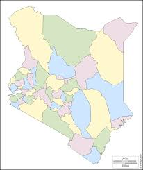 Kenya Blank Map by Kenya Free Map Free Blank Map Free Outline Map Free Base Map