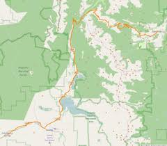 Estes Park Colorado Map by Enchanted Rockies Trail Gps Data Sulphur Springs To Estes