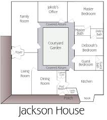 baby nursery mission style house plans with courtyard floor
