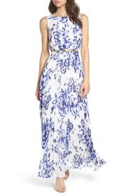 eliza j eliza j chiffon maxi dress regular nordstrom