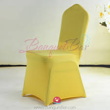 yellow chair covers spandex cocktail table covers stretch chair covers for wedding