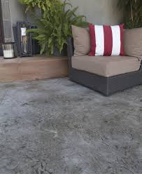 stamped concrete overlays easier to install less costly than
