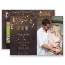 country save the dates invitations by