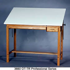 Drafting Table Pad Smi Professional Series Drafting Table Wood Four Post Table