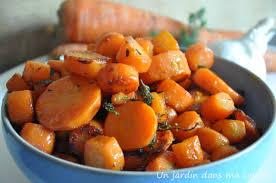 cuisiner les carottes carottes sautées à l ail un jardin dans ma cuisine