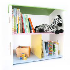 Dr Bookcase Tot Tutors Playtime Bookcase Pastel Walmart Com