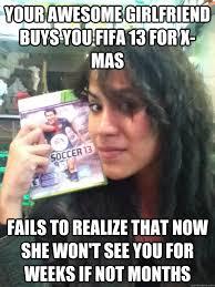 Funny Memes About Girlfriends - fifa gf memes quickmeme
