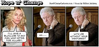 Blowjob Meme - hate hillary or like trump board hillary hope n change by