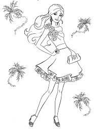 barbie diamond castle coloring pages coloring