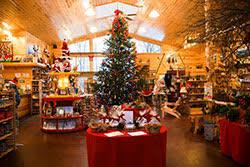 sleigh rides visit santa plants beautiful trees