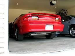 99 camaro exhaust 99 3 8l camaro with z28 exhaust