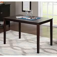 Dining Table Set Espresso Parson 5 Piece Dining Set Espresso Walmart Com