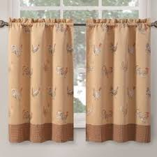 french linen cafe curtains wayfair
