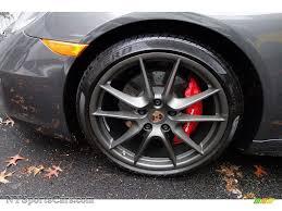 grey porsche 911 convertible 2014 porsche 911 carrera 4s cabriolet in agate grey metallic photo