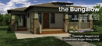bungalow home designs the bungalow irontown homes