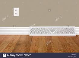 Hardwood Floor Outlet Bedroom Wall With Baseboard Heating Register Electrical Outlet