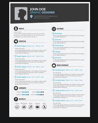 Download Free Creative Resume Templates Graphic Design Resume Template Vector Free Download 2017 Resume