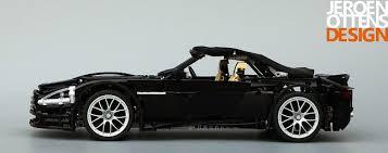 aston martin db9 volante convertible aston martin db9 volante hellobricks lego
