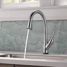 touch2o kitchen faucet delta esque single handle pull kitchen faucet with touch2o