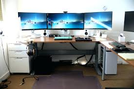 Large Gaming Desk Gaming Desk Ikea Amazing L Shaped Desk Gaming Desk Ikea Hack