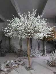 cheaper white wedding trees for sale artificial blossom flower