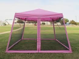 Pop Up Gazebos With Netting by Pink Pop Up Gazebo With Netting House Decorations And Furniture