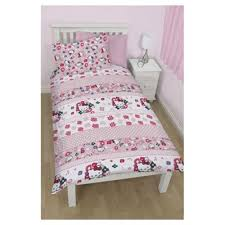Tesco Bedding Duvet Buy Hello Kitty Duvet Set Single Tesco Exclusive From Our