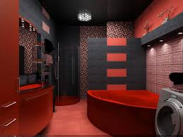 Red Bathroom Designs Colors Black And Red Bathroom Interior Design Ideas By Alexandra