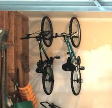 how to hang bikes in garage youtube