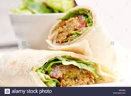 arab wrap falafel pita bread roll wrap sandwich traditional arab middle east