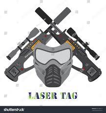helmet design game set laser tag game illustration helmet stock illustration 631283219