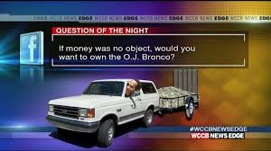 white bronco car o j simpson u0027s famous white bronco is going up for sale wccb