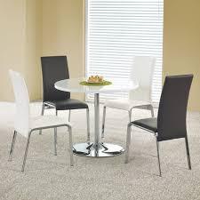 table de cuisine ronde table de cuisine ronde diamètre 90cm blanche fred
