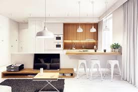 kitchen design laminate wooden floor white contemporary polygon