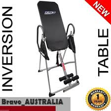 Upside Down Bench Inversion Table Folding Upside Down Back Pain Exercise Home Gym