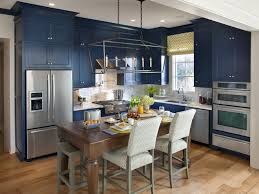 modern blue kitchen cabinets modern retro kitchen ideas 6044 baytownkitchen