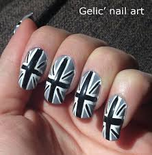 27 incredible black and gray nails art design srtyle u0026 ideas