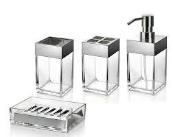 Exquisite Modern Bathroom Accessories Sets Charming Idea Designer - Bathroom accessories designer