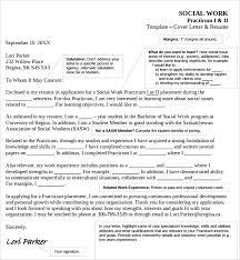 social work cover letter social worker cover letter exle suren drummer info
