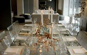 modern dining room decorating for the holidays euro style home